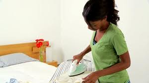 ironing