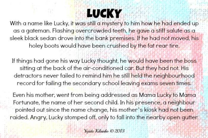 Lucky-Flash Story