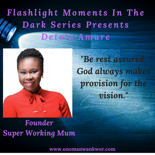 Flashlight Moments In The Presents: Detola Amure