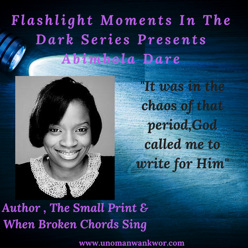 Flashlight Moments In the Dark Presents: Abimbola Dare