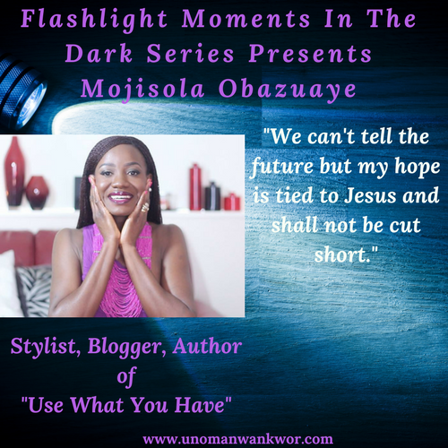 Flashlight Moments In the Dark Series Presents: Mojisola Obazuaye